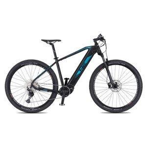 """Horský elektrobicykel 4EVER Esword Elite 29"""" - model 2021 šedá/metal modrá - 17"""" - Záruka 10 rokov"""
