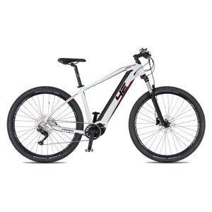 """Horský elektrobicykel 4EVER ESWORD Elite Lady 29"""" - model 2021 biela/metal ružová - 17"""" - Záruka 10 rokov"""