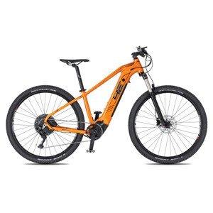 """Juniorský horský elektrobicykel 4EVER Enspace Junior 29"""" - model 2021 oranžová - 16,5"""" - Záruka 10 rokov"""