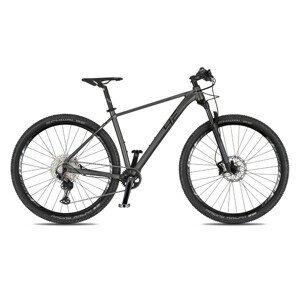 """Horský bicykel 4EVER Prodigy Race 29"""" - model 2021 titan/metal strieborná - 21"""" - Záruka 10 rokov"""