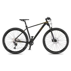 """Horský bicykel 4EVER Prodigy Race 29"""" - model 2021 černá/metal zlatá - 19"""" - Záruka 10 rokov"""