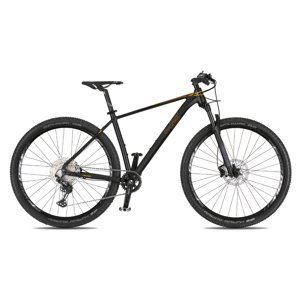 """Horský bicykel 4EVER Prodigy Race 29"""" - model 2021 černá/metal zlatá - 21"""" - Záruka 10 rokov"""