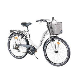 "Mestský bicykel Reactor Swan 26"" - model 2021 White"
