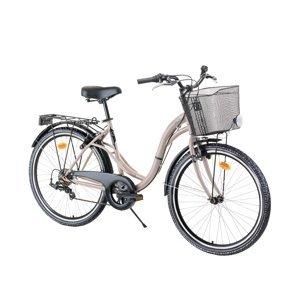 "Mestský bicykel Reactor Swan 26"" - model 2021 Gold Rose"