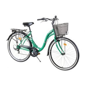 """Mestský bicykel Reactor Swan 28"""" - model 2021 Green"""