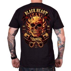 Tričko BLACK HEART Hell Boy čierna - XXL