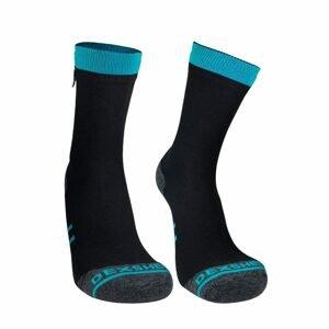 Nepremokavé ponožky DexShell Running Lite blue - S
