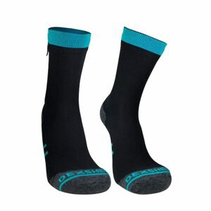 Nepremokavé ponožky DexShell Running Lite blue - XL