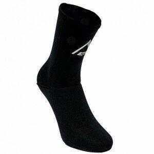 Neoprenové ponožky Agama Alpha 3 mm čierna - 46/47