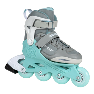 Detské nastaviteľné korčule PowerslideRocket Grey 37-40