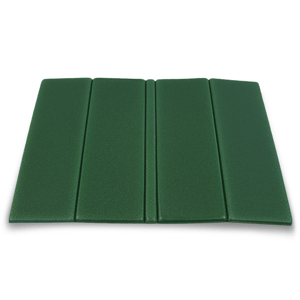 Sedadlo skladacie Yate 27x36x0,8 cm tmavo zelená