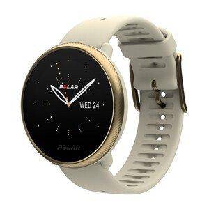 Športové hodinky Polar Ignite 2 béžová/zlatá S-L