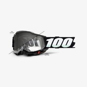 Motokrosové okuliare 100% Accuri 2 UTV/ATV SAND/OTG Photochromic čierna