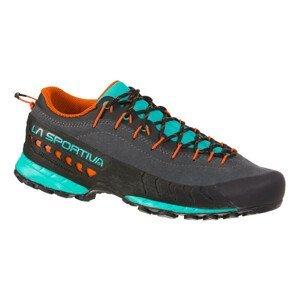 Dámske turistické topánky La Sportiva TX4 Woman Carbon/Aqua - 41,5