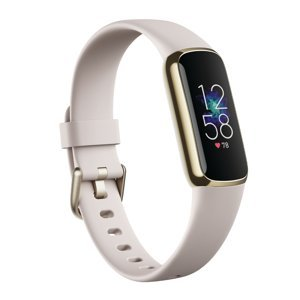 Fitness náramok Fitbit Luxe Soft Gold/White