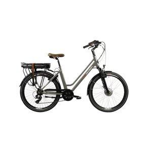 """Mestský elektrobicykel Devron 26120 26"""" - model 2022 Grey - 18"""" - Záruka 10 rokov"""