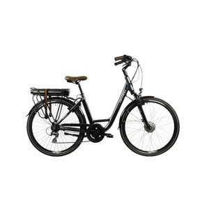 """Mestský elektrobicykel Devron 28120 28"""" - model 2022 Grey - 21"""" - Záruka 10 rokov"""