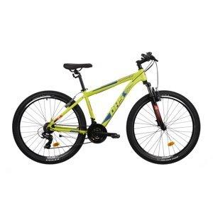 "Horský bicykel DHS Teranna 2723 27,5"" - model 2021 Green - 16,5"" - Záruka 10 rokov"