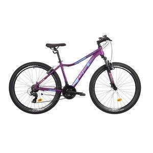 """Dámsky horský bicykel DHS Terrana 2722 27,5"""" - model 2021 Violet - 18"""" - Záruka 10 rokov"""