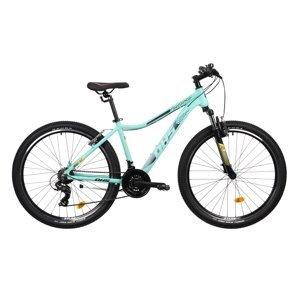 "Dámsky horský bicykel DHS Terrana 2722 27,5"" - model 2021 Turquoise - 16,5"" - Záruka 10 rokov"