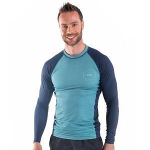 Pánske tričko pre vodné športy Jobe Rashguard s dlhým rukávom Vintage Teal - XL