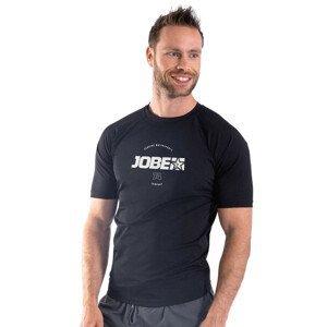 Pánske tričko pre vodné športy Jobe Rashguard s krátkym rukávom Black - XL