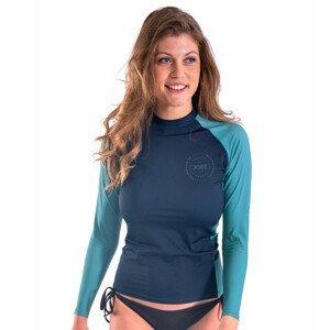 Dámske tričko pre vodné športy Jobe Rashguard s dlhým rukávom Midnight Blue - XL
