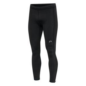 Pánske kompresné nohavice dlhé Newline Core Tights Men čierna - L