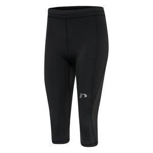 Dámske elastické nohavice 3/4 Newline Core Knee Tights Women čierna - XL