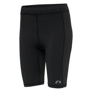 Dámske elastické nohavice krátke Newline Core Sprinters Women čierna - L