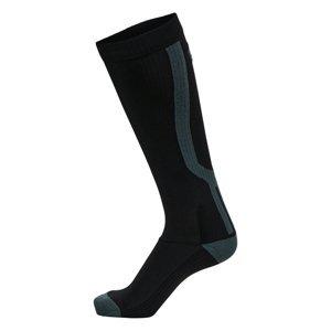 Kompresné bežecké podkolienky Newline Compression Sock čierna - 43-46
