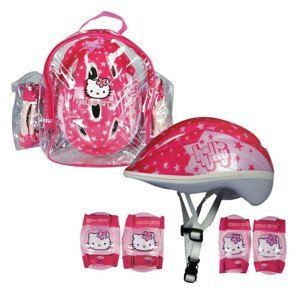 Súprava chráničov a helmy Hello Kitty s taškou