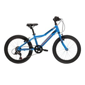 "Detský bicykel Kross Hexagon Mini 1.0 SR 20"" - model 2021 Blue / Orange Glossy - 11"" - Záruka 10 rokov"