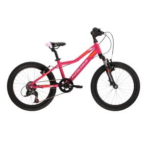 "Detský bicykel Kross Lea Mini 2.0 SR 20"" - model 2021 Pink / Orange Matte - 11"" - Záruka 10 rokov"