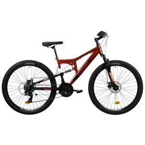 "Horský bicykel DHS 2743 27,5"" - model 2021 Red - 17"" - Záruka 10 rokov"