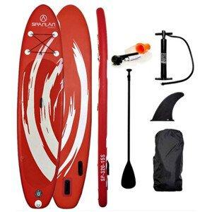 """Paddleboard s príslušenstvom Spartan SUP 10'6"""" Red-White"""