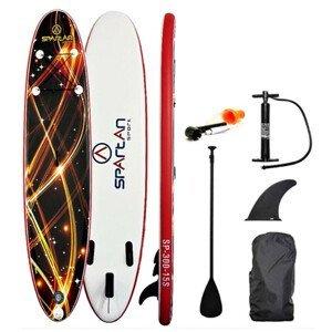 Paddleboard s príslušenstvom Spartan SUP 10' Brown-Red