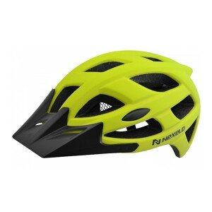 Cyklo prilba Nexelo City zeleno-čierna - M (55-58)