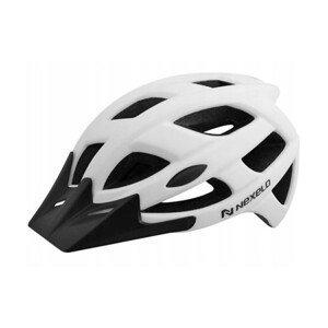Cyklo prilba Nexelo City matná biela - L (58-61)