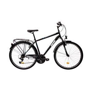 """Pánsky trekingový bicykel DHS 2855 28"""" - model 2021 Black - 20"""" - Záruka 10 rokov"""
