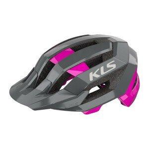 Cyklo prilba Kellys Sharp Pink - L/XL (58-61)