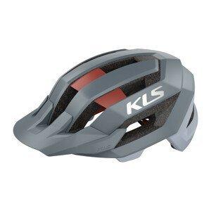 Cyklo prilba Kellys Sharp Grey - M/L (54-58)