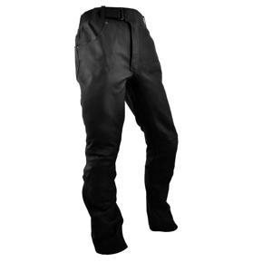 Kožené moto nohavice Rebelhorn RUNNER čierna - L