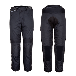 Dámske motocyklové nohavice ROLEFF Textile čierna - L