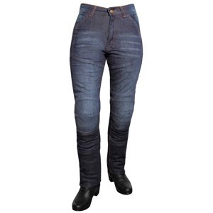 Dámske jeansové moto nohavice ROLEFF Aramid Lady modrá - 29/M