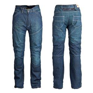 Pánske jeansové moto nohavice ROLEFF Aramid modrá - 40/3XL