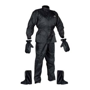 Moto pláštenka NOX Set Rainpack čierna - 2XL
