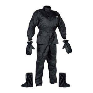 Moto pláštenka NOX Set Rainpack čierna - S