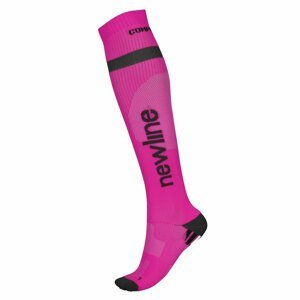 Kompresné bežecké podkolienky Newline Compression Sock 90941 ružová - L (39-42)