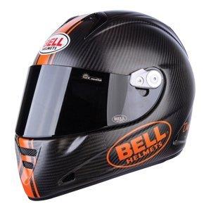 Moto prilba BELL M5X Carbon matne čierna-oranžová - XL (61-62) - Záruka 5 rokov